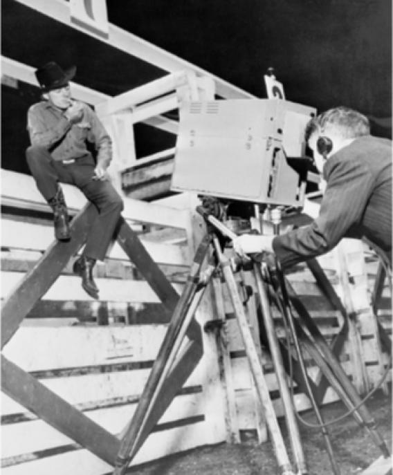 RCA Image Orthicon prototype MSG rodeo Oct 1945