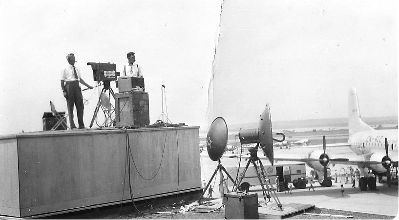 june 10 1946 test first io cameras
