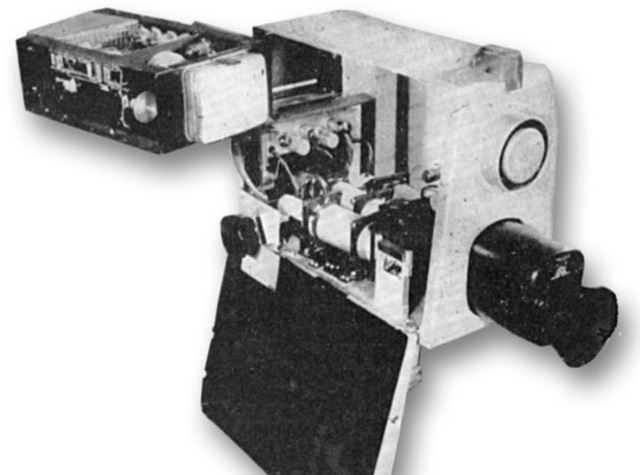 Philips 1963 experimental colour television camera