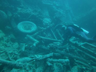 Unexploded Artillery Shells, Red Sea Egypt