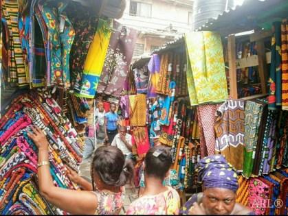 Balogun Market - Lagos Island