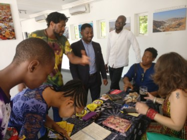Lekan Fatodu and guests at The Eyes of A Lagos Boy Photo Exhibition