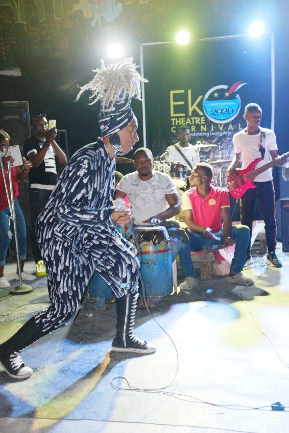 Wunmi at the Eko Theatre Carnival, Lagos 2020 - Eyes of a Lagos Boy