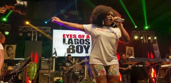 Omawumi- Felabration 2020 - Photo by Eyes of a Lagos Boy
