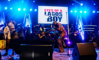 Seun Kuti and the Egypt 80 Band - Felabration 2020 - Photo by Eyes of a Lagos Boy