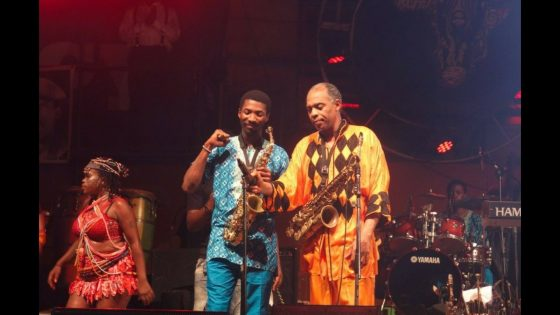 Made and Femi Kuti - Afrika Shrine Lagos, photo by Bolaji Along/Eyes of a Lagos Boy