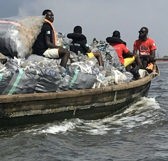 The paradox of value evacuating a ton of plastic from the beach for recycling