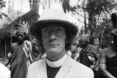 The white Missionary in the fictional village of Umuofia - Stephen Goldblatt