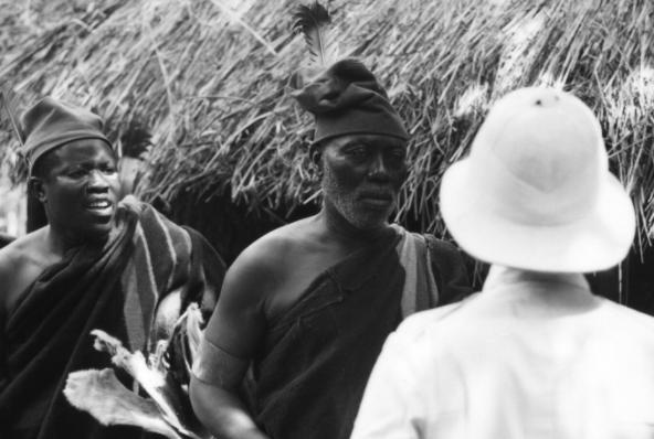 Orlando Martins as Obierika. Fern Mosk, Screenplay, Nigeria 1970 Stephen Goldblatt