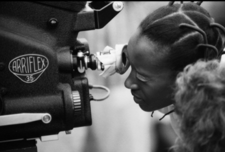On Set - Elizabeth of Toro. The main production camera was brought from London; other equipment was brought by the production manager from Berlin by van., Nigeria 1970 - Stephen Goldblatt
