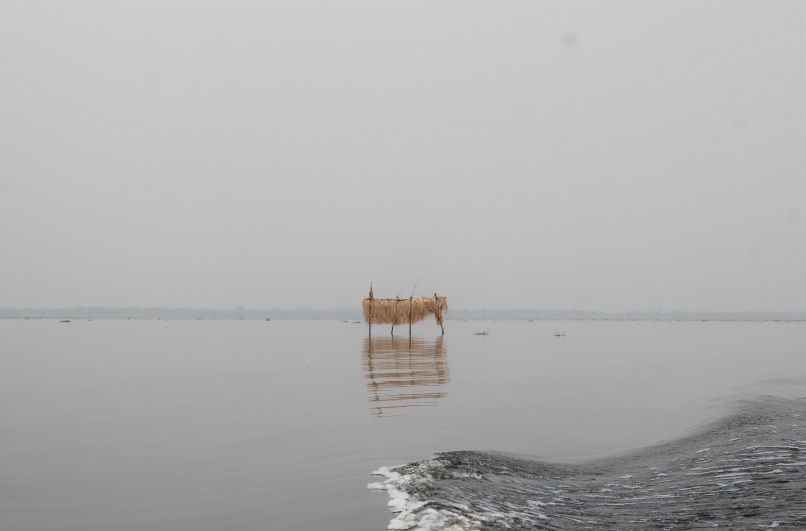 A shrine at one of the coastal villages of Epe, Lagos Nigeria - Eyes of a Lagos Boy