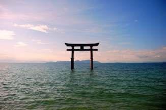 Torii of Itsukushima Shrine, Japan - Courtesy Wikipedia
