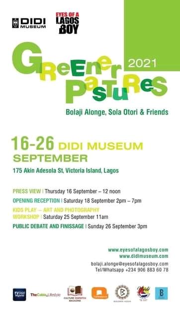 Greener Pastures Exhibition Poster