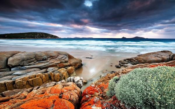 beautiful unique landscapes surf