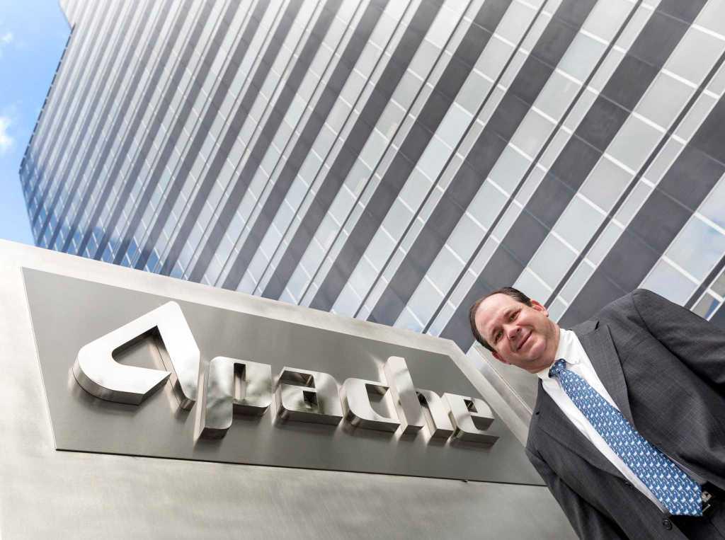 Apache Stock soars