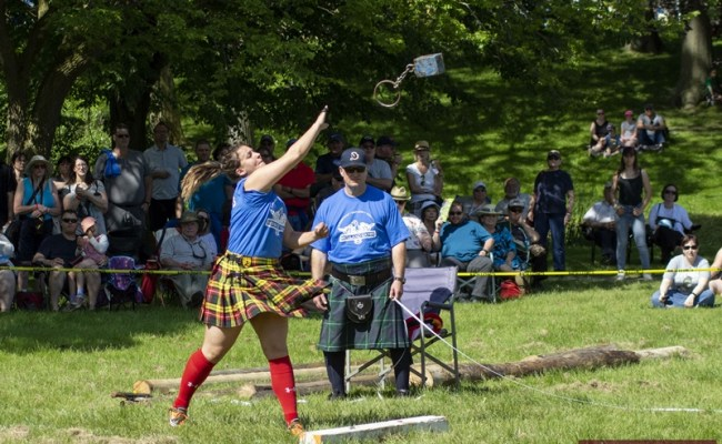 Kingsville Highland Games Successfully Returned To A