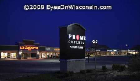The Prime Outlets Pleasant Prairie Wisconsin
