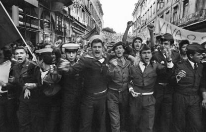 Nei giorni della rivoluzione dei garofani, Lisbona, 27 aprile 1974