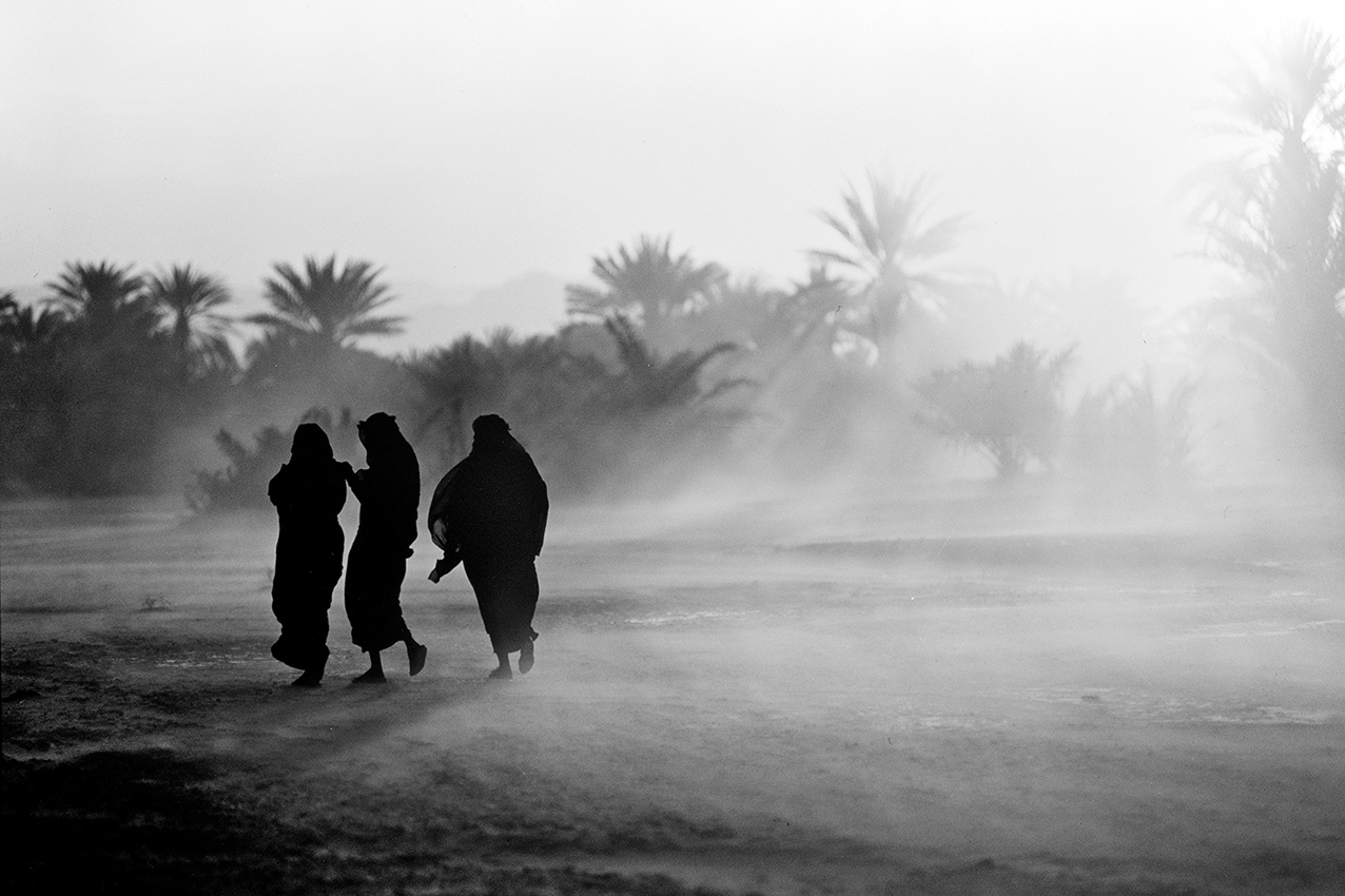yemen-shibam-donne nella tempesta di sabbia-ph graziano perotti copia