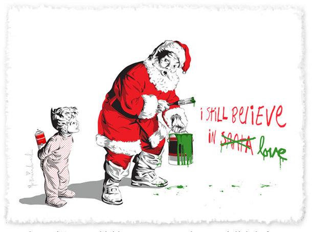Kerstige Street Art EYEspired