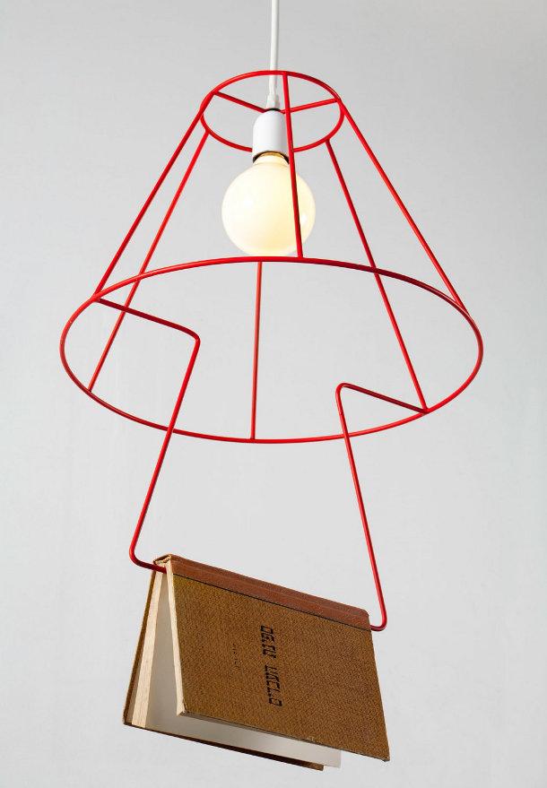 Hanglamp voor boekenwurmen  EYEspired