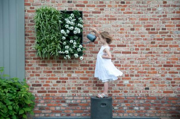 Hang je planten aan de muur met deze verticale plantenbak