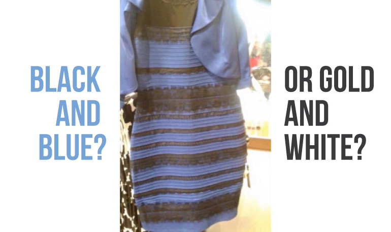 black and blue or