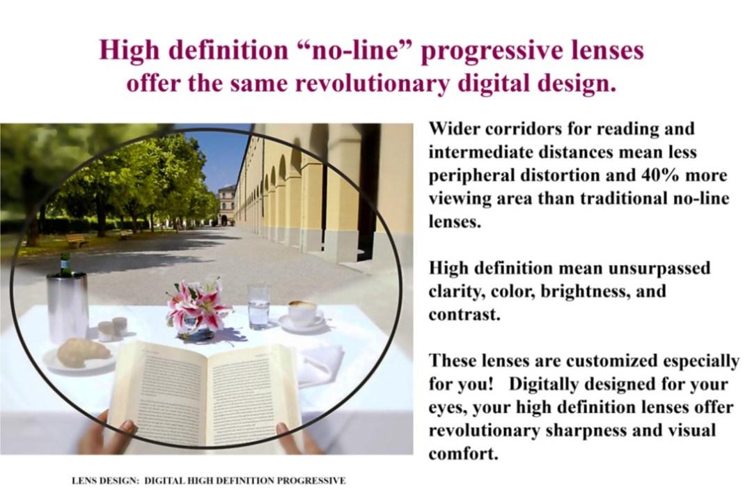 No Line Progressive High Def