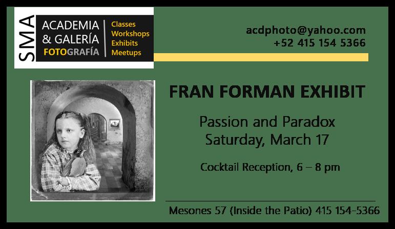 Fran Forman Invitation