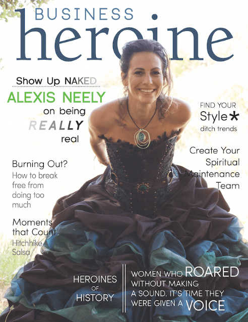 Business Heroine Magazine Cover