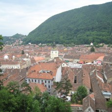View from White Tower, Brasov
