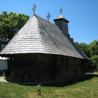 Hut in Village Museum