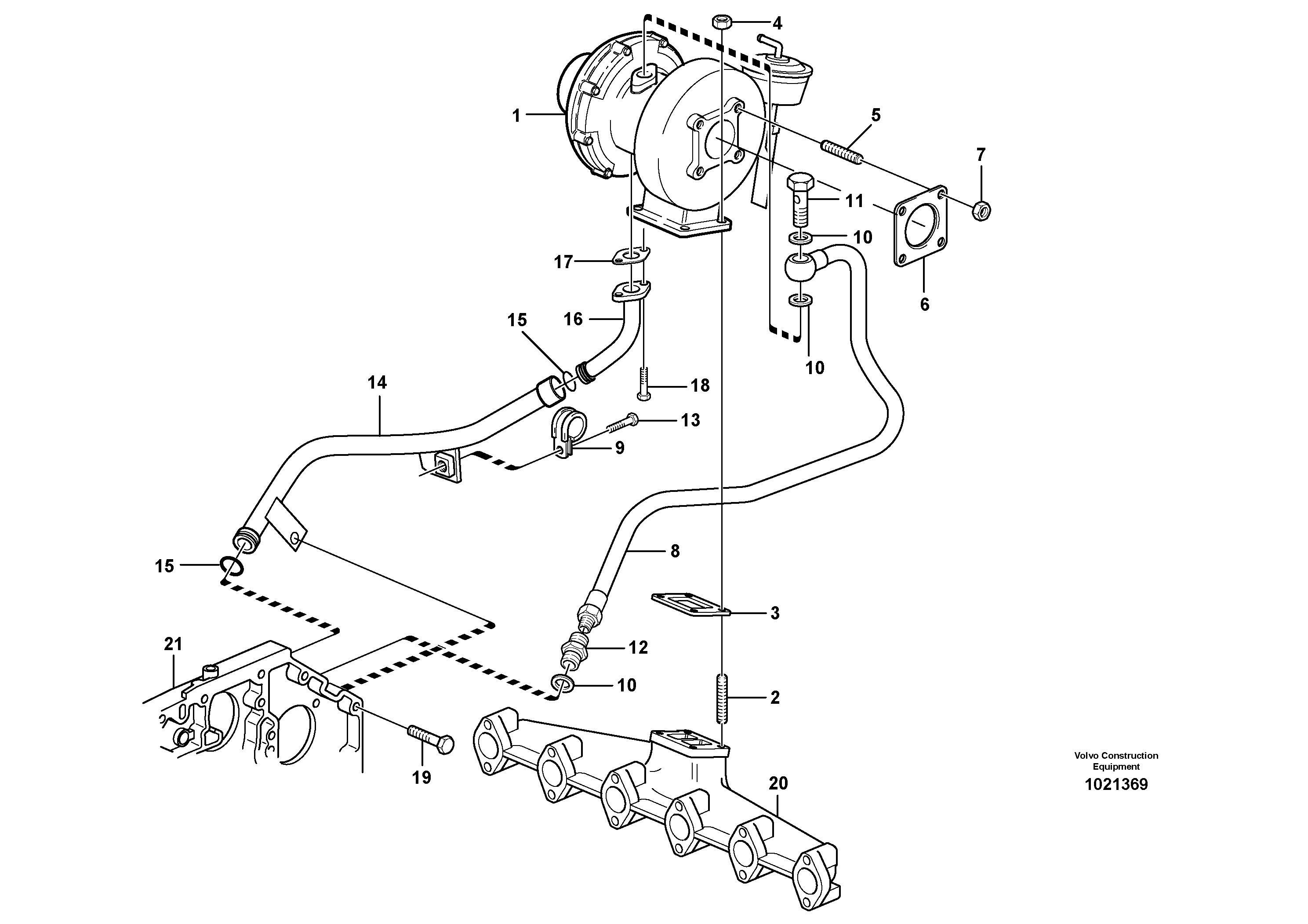 Volvo Grader Turbo Spare Parts