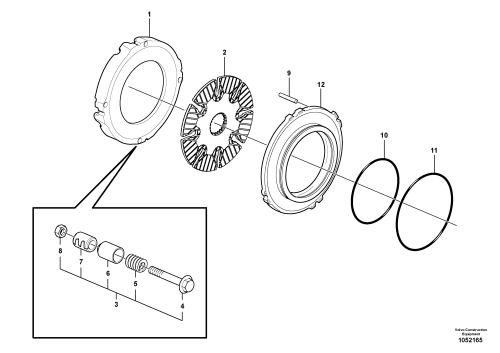 small resolution of car brake pad diagram