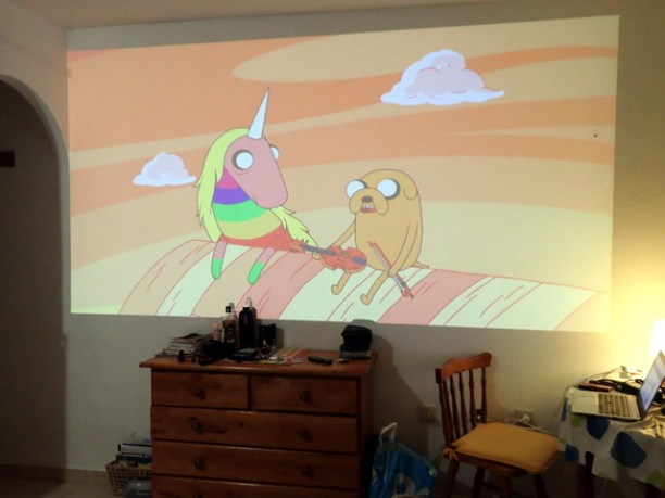 Our projector