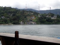 View from the dock bar