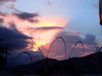 Sunset light effect