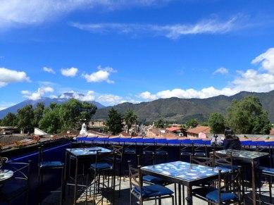 Sky Cafe rooftop terrace