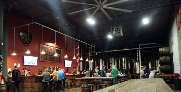 Larger view of brewery/bar