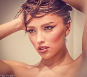 Model: Sierra Tasi-BakerMakeup: Diana RichardsonPhotographer: Eyoälha Baker