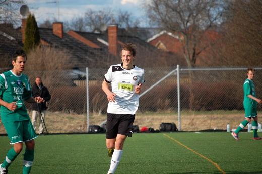 David Holm: Fyra mål på 26 minuter.
