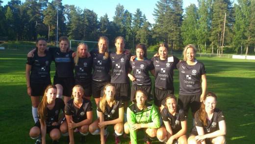 ÖSK Söder F17 gjorde 20-1 på Hällbybrunn över två matcher.