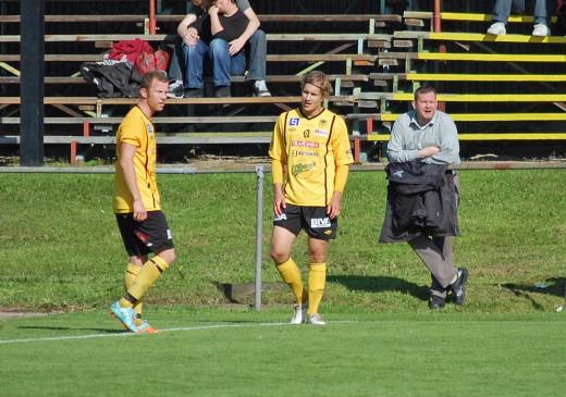 En kommer tillbaka - Daniel Björnquist med Christoffer Näfver.