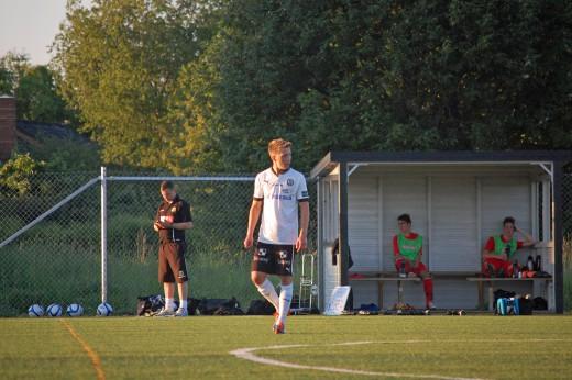 En trevlig kväll för Filip Albertsson som hann med att göra tre mål under den tid han var på plan.