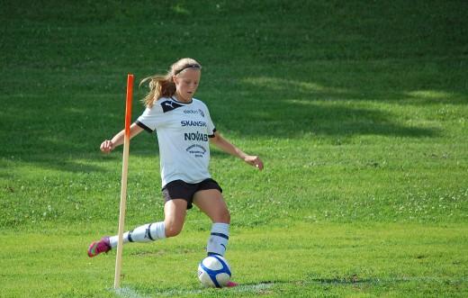 Anna Meier knäckte FC Honka med sina fyra mål.