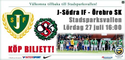 JSödra - Öebro SK
