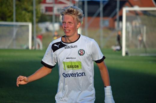 Fighting face: Edwin Ahlnäs vikar aldrig ner sig.