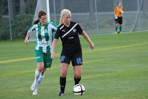 Emma Tivemo - ÖSK Söders matchvinnare. (Foto: Cassandra Söder)