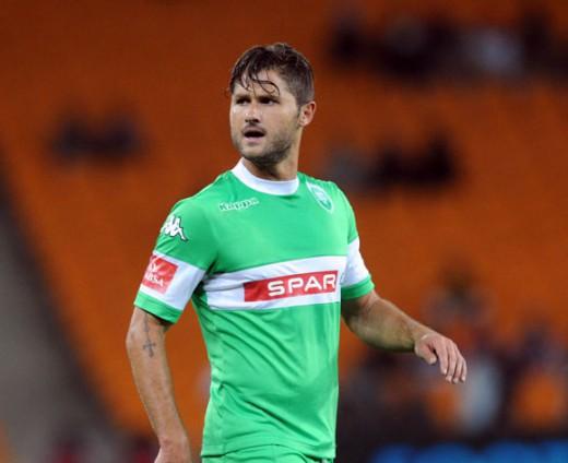 Marc van Heerden ser fram emot provpslet med ÖSK. (Foto: AmaZulu FC).