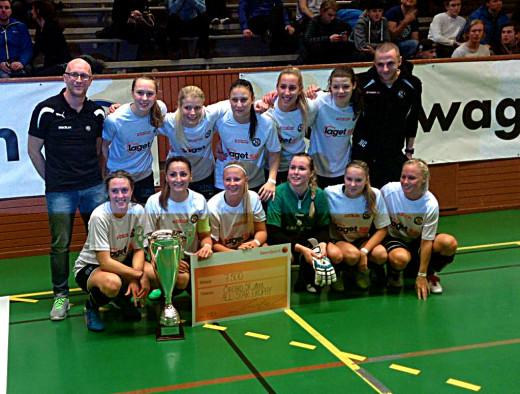 ÖSK Söder Dam: Cupsegrare i Sanvikens All Star Trophy.